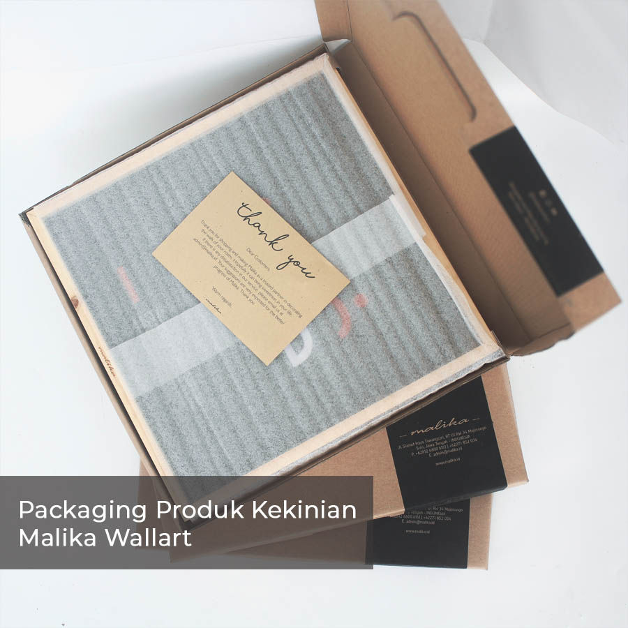 packaging produk kekinian