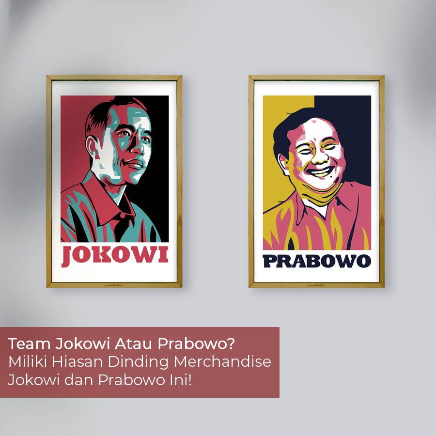 merchandise jokowi dan prabowo